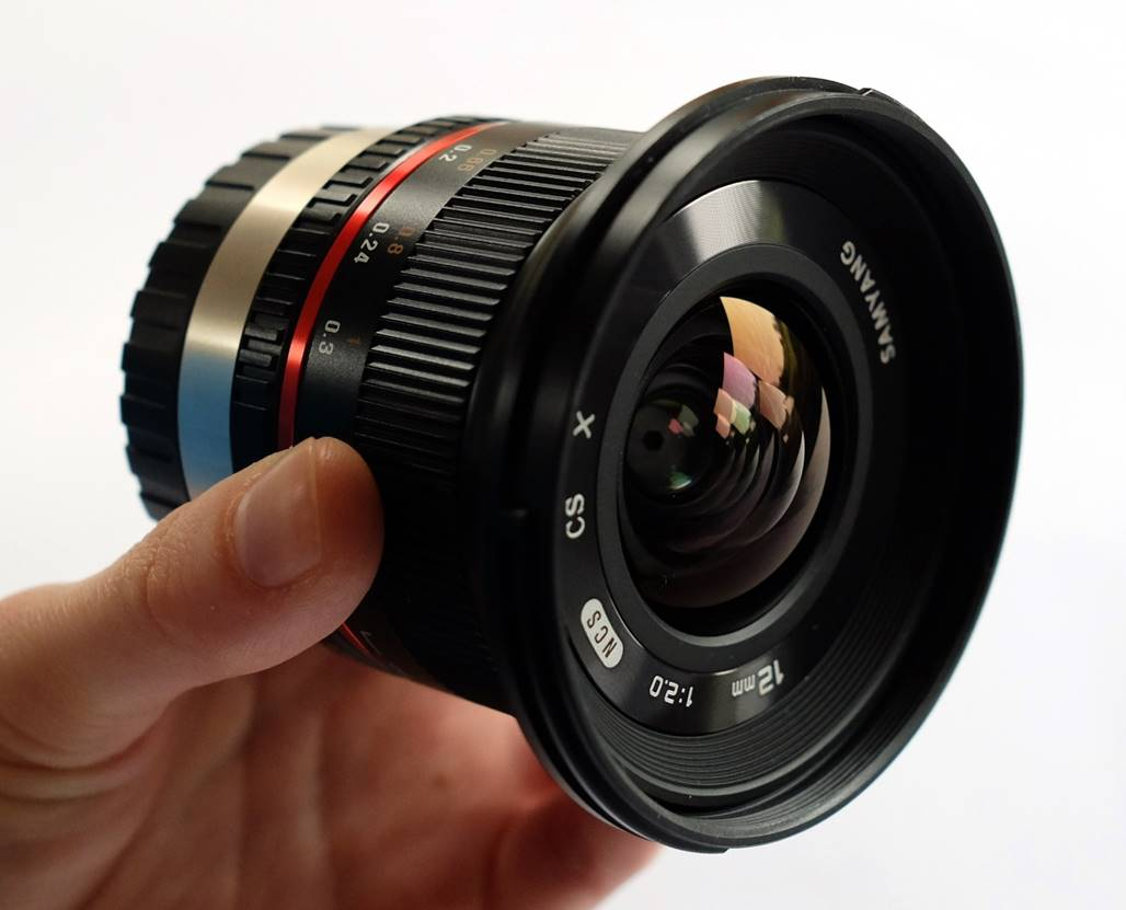 Samyang 12mm F2 NCS CS Lens Review